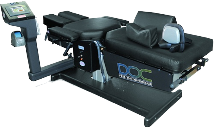 Decompression Table at Tecumseh Chiropractic and Wellness Centre