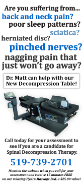 Decompression therapy